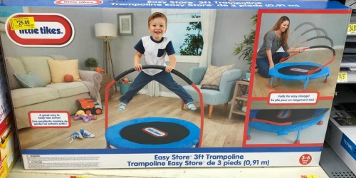 Little Tikes 3-Foot Trampoline Possibly Only $25 at Walmart (Regularly $55)