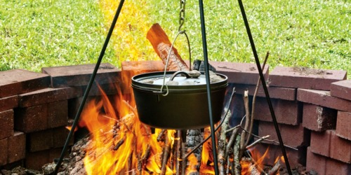 Amazon: Lodge Camp Dutch Oven Tripod Only $18 Shipped (Regularly $46)