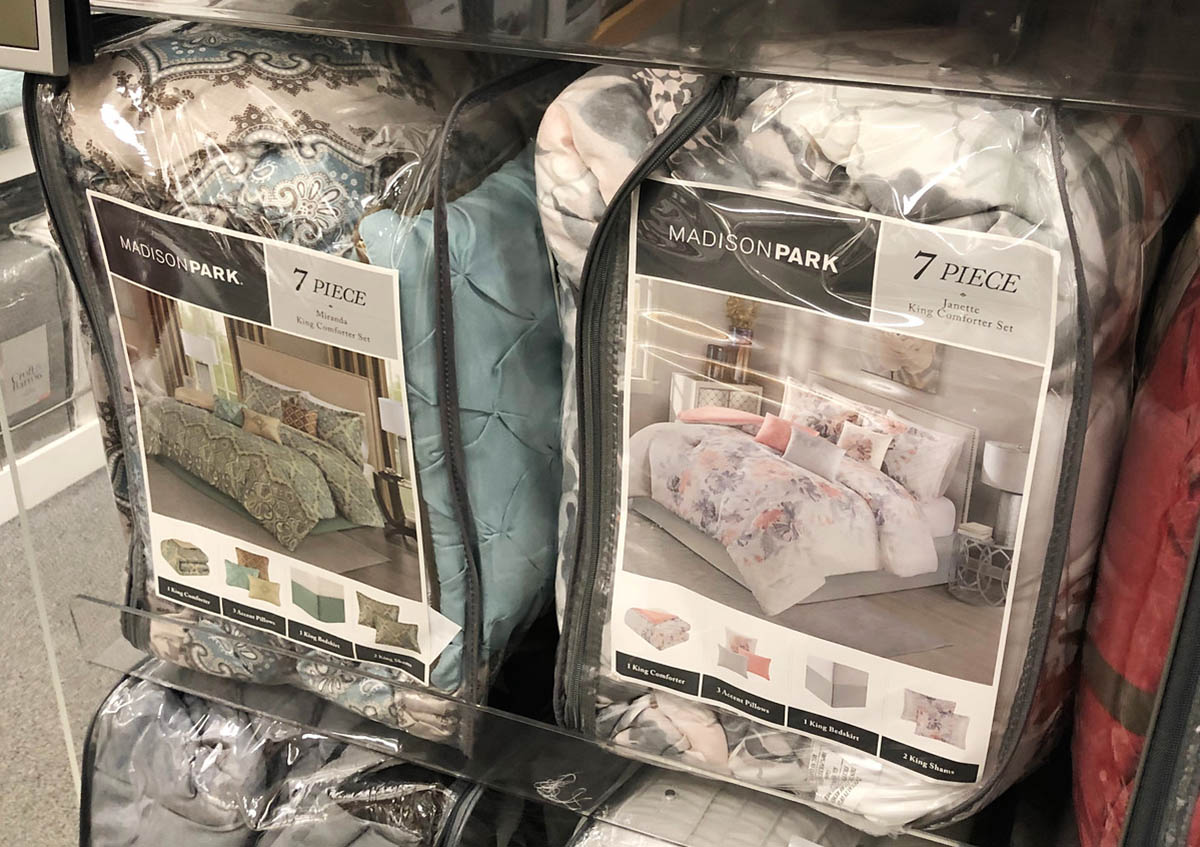 Comforter Sets As Low As 15 29 At Kohl S: Kohl's Promo Codes: Up To 70% On 7-Piece Comforter Sets