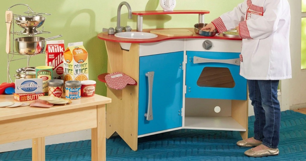 Melissa & Doug Wooden Kitchen Play Set Only $59.99 Shipped ...