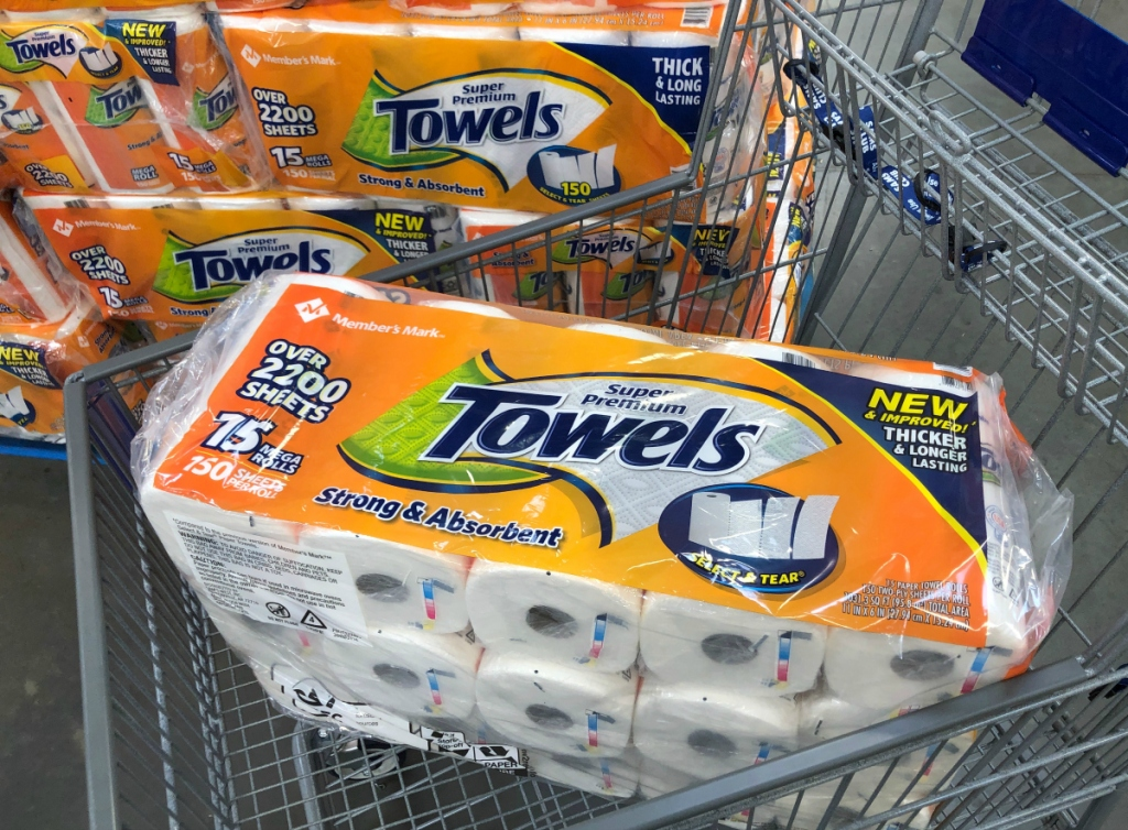 member's mark paper towels are a must buy at sam's club