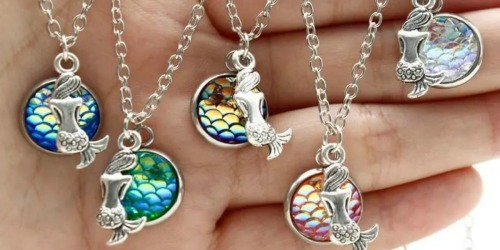 Mermaid Drop Necklace Only $5.99 Shipped (Regularly $30)