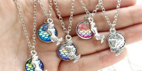 Mermaid Drop Necklace as Low as $5.65 Each Shipped (Regularly $30)