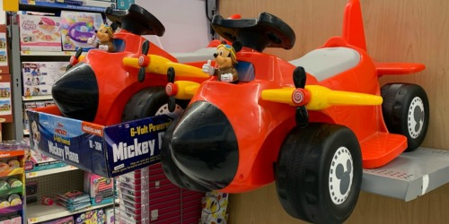 Disney Ride-On Plane Toys Possibly Just $15 at Walmart (Regularly $60)