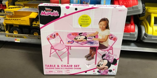 Disney Table & Chairs Playsets Possibly Only $15 (Regularly $35+) at Walmart