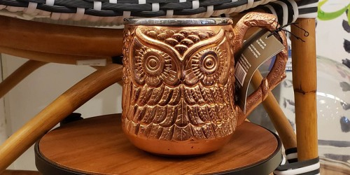 Moscow Mule Owl Mug Only $4.98 at Pier 1 Imports (Regularly $19.95)