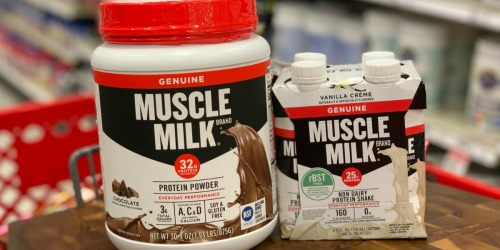 High Value Muscle Milk Printable Coupons