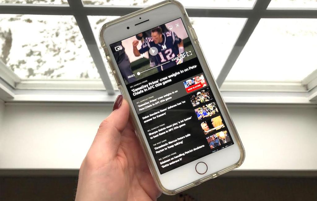 ways to stream online without cable - nfl mobile app