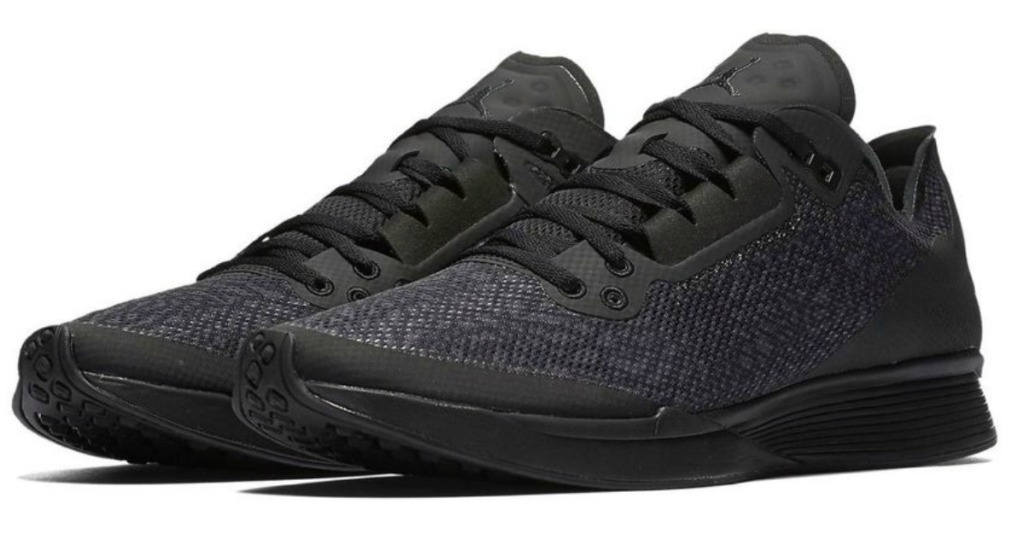 058519e7f5e4f6 Head over to FinishLine.com where you can snag these Nike Men s Jordan  88  Racer Running Shoes in black for just  40 (regularly  99.99)! Keep in mind  that ...