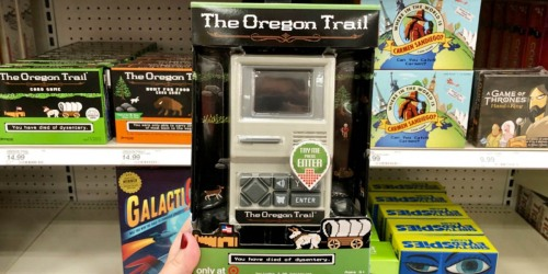 The Oregon Trail Handheld Electronic Game Only $10 Shipped (Regularly $30)