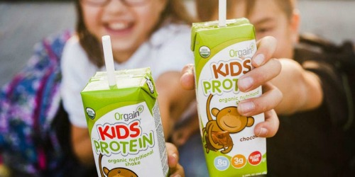 Amazon: Orgain Kids Protein Shakes 12-Pack Only $12 Shipped (Just $1 Each)