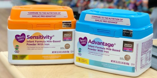 Get $3 Cash Back From Ibotta On Parent's Choice Non-GMO Baby Formula at Walmart