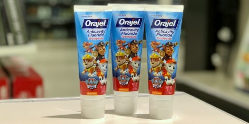 Orajel Kids Toothpaste Only 82¢ Each After Target Gift Card (Online Only)