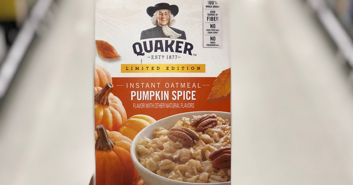Amazon Quaker Seasonal Sampler Only 11 99 Shipped