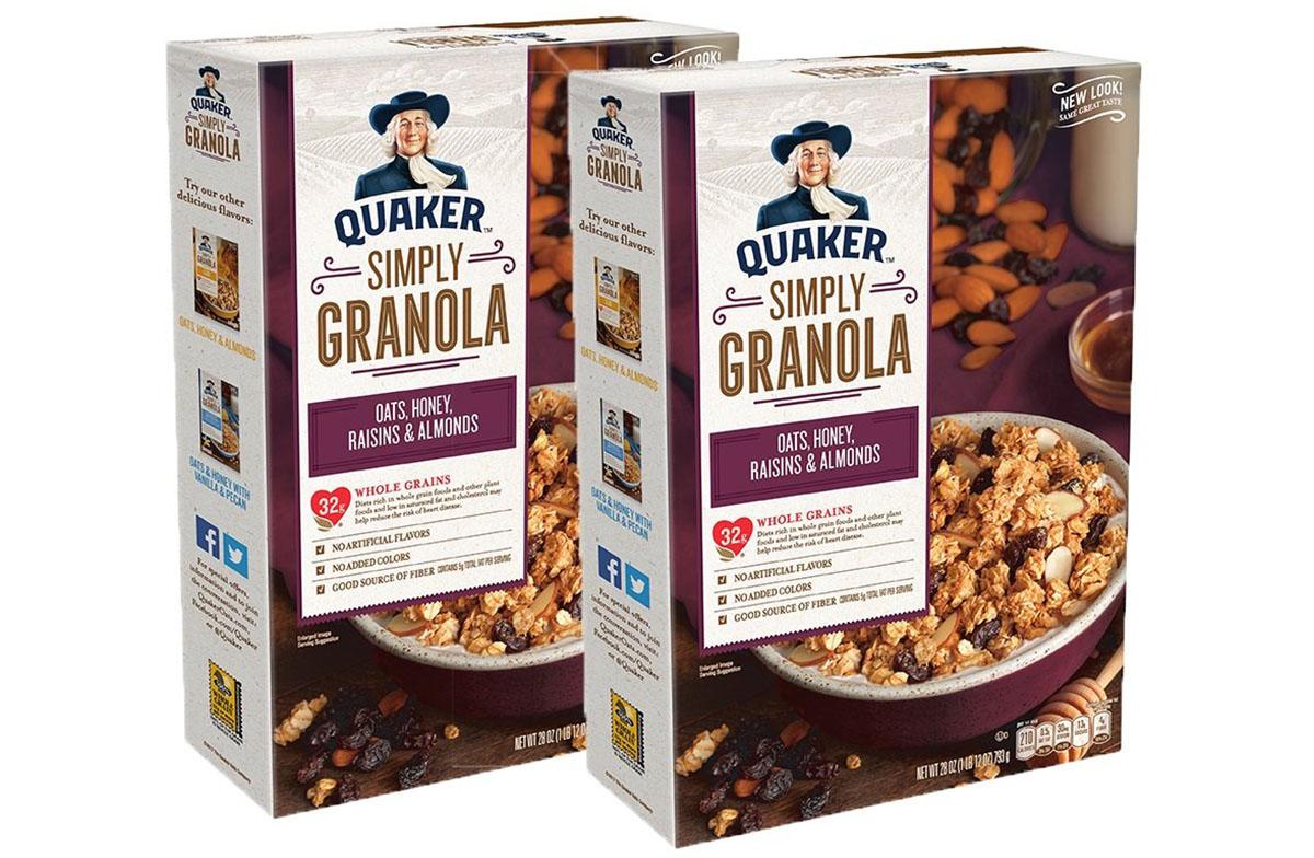 quaker simply granola