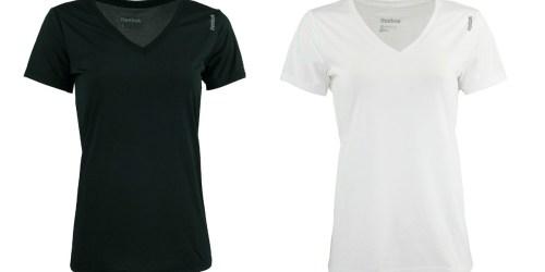 Reebok Women's Performance T-Shirt Only $5.99 Shipped (Regularly $20)