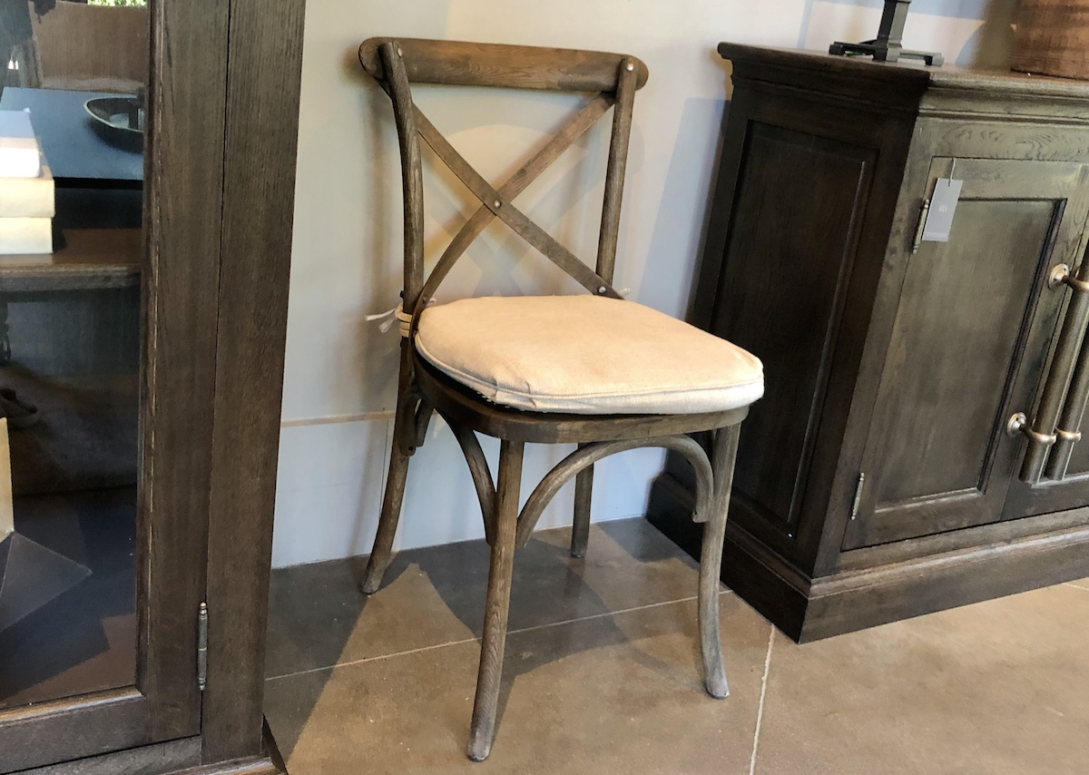 Restoration Hardware copycat items – crossback dining room side chair