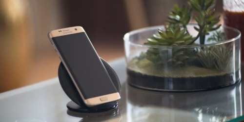 Amazon: Samsung Wireless Charging Stand + Wall Charger Only $23.99 Shipped (Regularly $70)