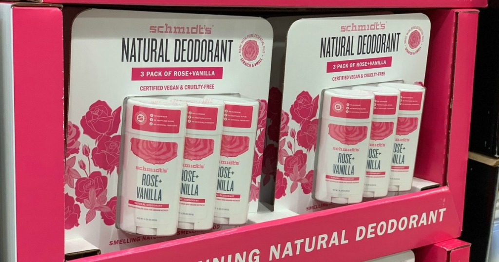 Schmidt's Natural Deodorants 3-Pack Only $9 99 at Costco