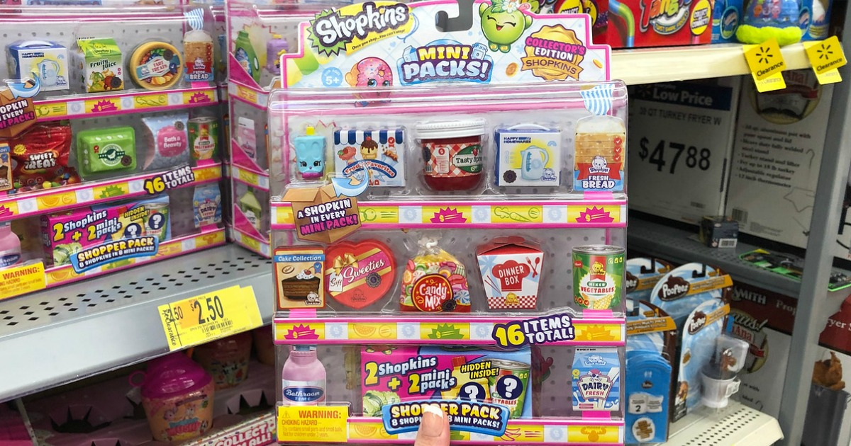Shopkins 16 Pack Possibly As Low As 1 At Walmart More