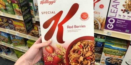 Special K Cereal Just $1.14 Each After Cash Back at CVS (Regularly $4.79)