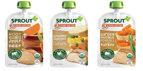 35% Off Sprout Baby Food on Amazon