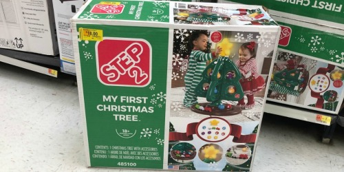 Step2 My First Christmas Tree Possibly Just $18 at Walmart (Regularly $45) + More Toy Deals