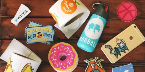 TEN Personalized Die Cut Stickers Only $1 Shipped (Regularly $20)