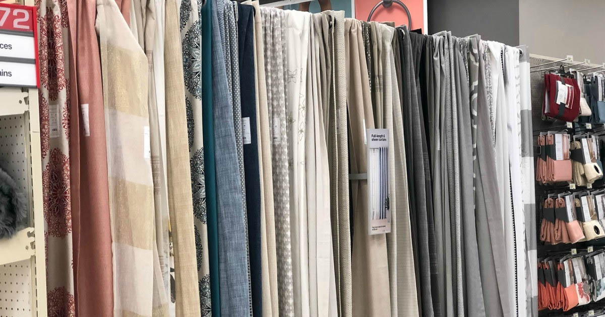 Buy 1, Get 1 50% Off Curtains at Target.com