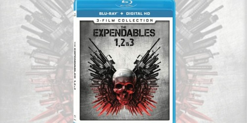 The Expendables 3-Film Collection Blu-ray + Digital HD as Low as $8.99 at Best Buy