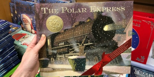 The Polar Express 30th Anniversary Hardcover Book w/ Ornament Only $9 Shipped (Regularly $20)