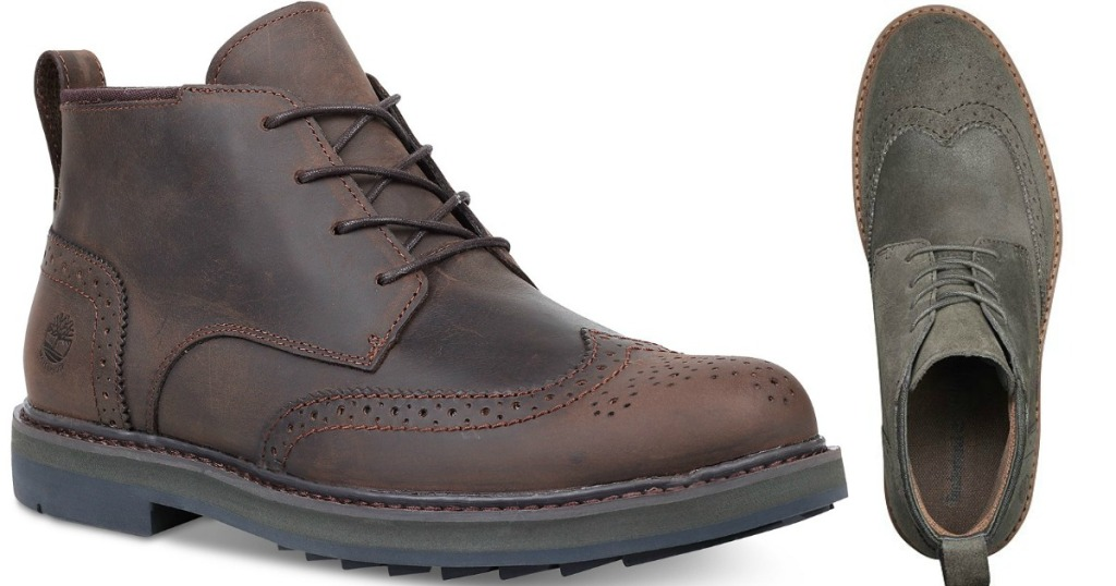 231208d0fa69 Score these deals… Timberland Men s Squall Canyon Wingtip Chukka Boots ...