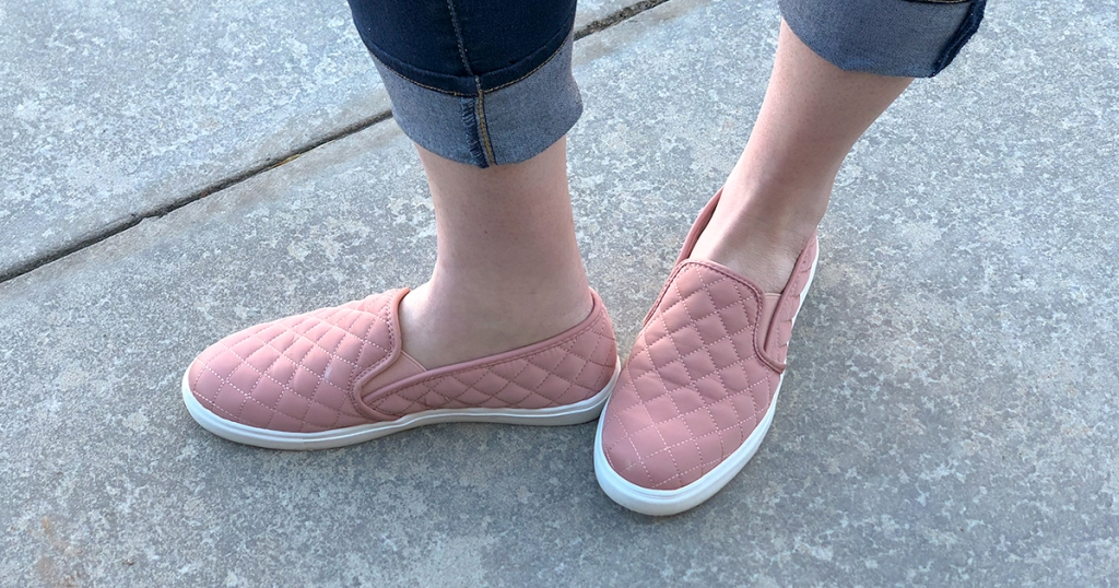walmart wednesday — time and tru quilted slip on shoes