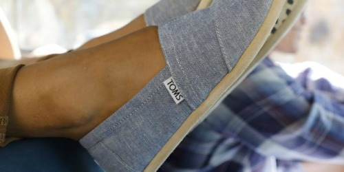 TOMS Men's & Women's Shoes as Low as $19.49 (Regularly $60+)