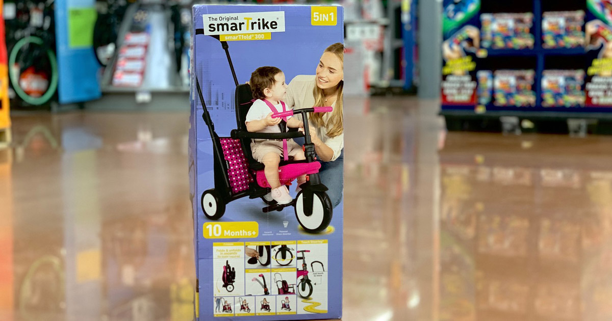 Smartrike 5 In 1 Folding Trike Possibly Only 17 At Walmart Regularly 69 Hip2save