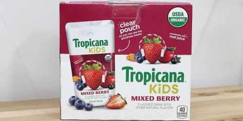 Clip Digital Coupons to Save on Drinks at Amazon: Tropicana, Starbucks, IZZE & More
