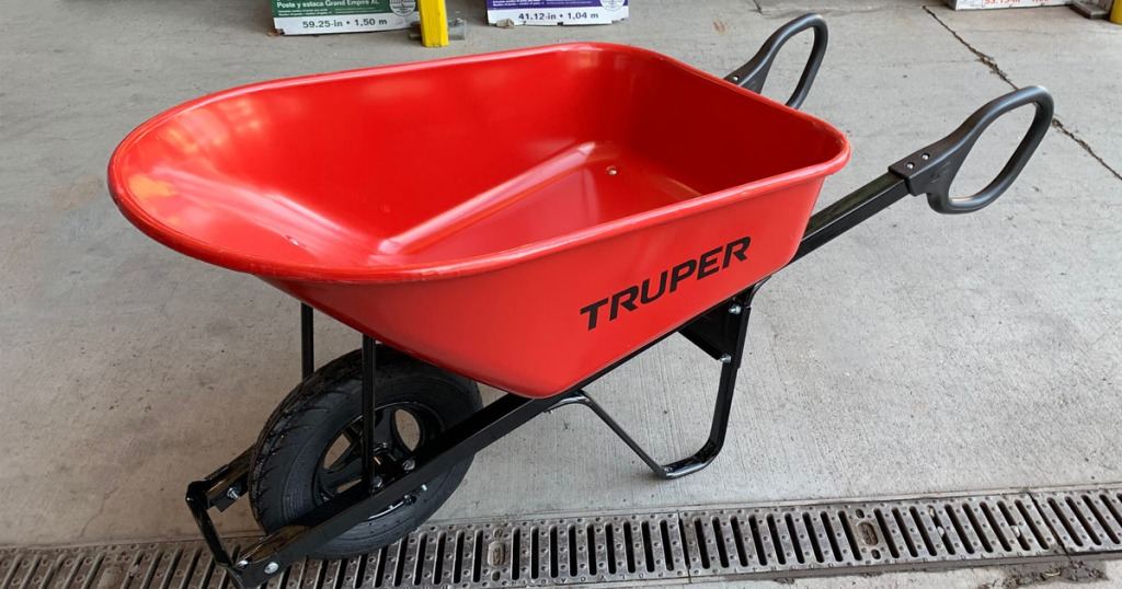 Head On Over To Lowes Where You May Find This Truper Steel Wheelbarrow For 17 49 Regularly 69 98 Shipping Is Not Available Item