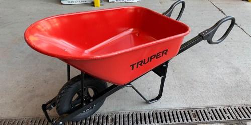 Lowe's: Truper Steel Wheelbarrow Possibly Only $17.49 (Regularly $70)