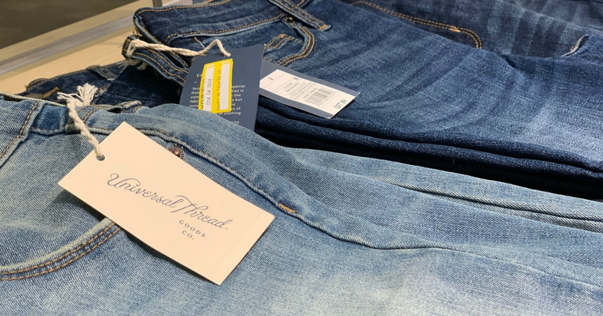 Up to 70% Off Universal Thread Women's Jeans at Target