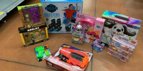 Over 50% Off NERF, L.O.L Surprise!, Roblox, & More at Walmart