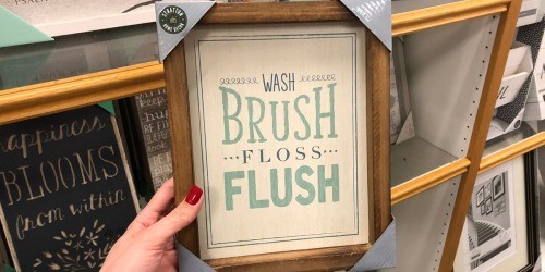 Kohl's Cardholders: Up to 65% Off Farmhouse Decor + Free Shipping