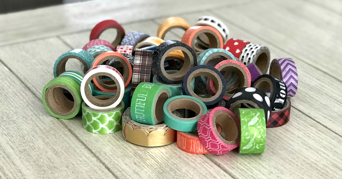 washi tape Dollar Tree