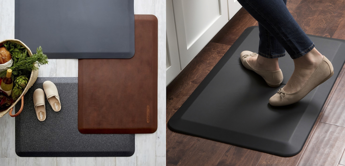 williams sonoma copycat budget – kitchen mat comparison side by side