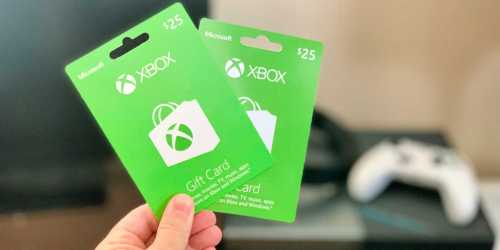 $25 Microsoft Xbox eGift Card Only $21 + More
