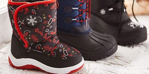Up to 70% Off Kids Snow Boots on Zulily