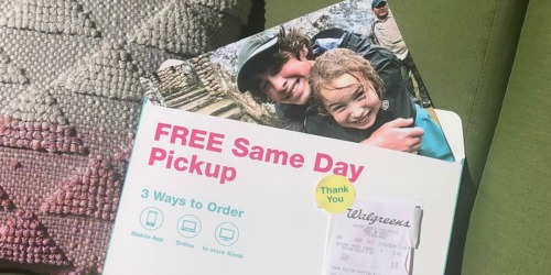 Free 8×10 Photo Print + Free Store Pickup at Walgreens