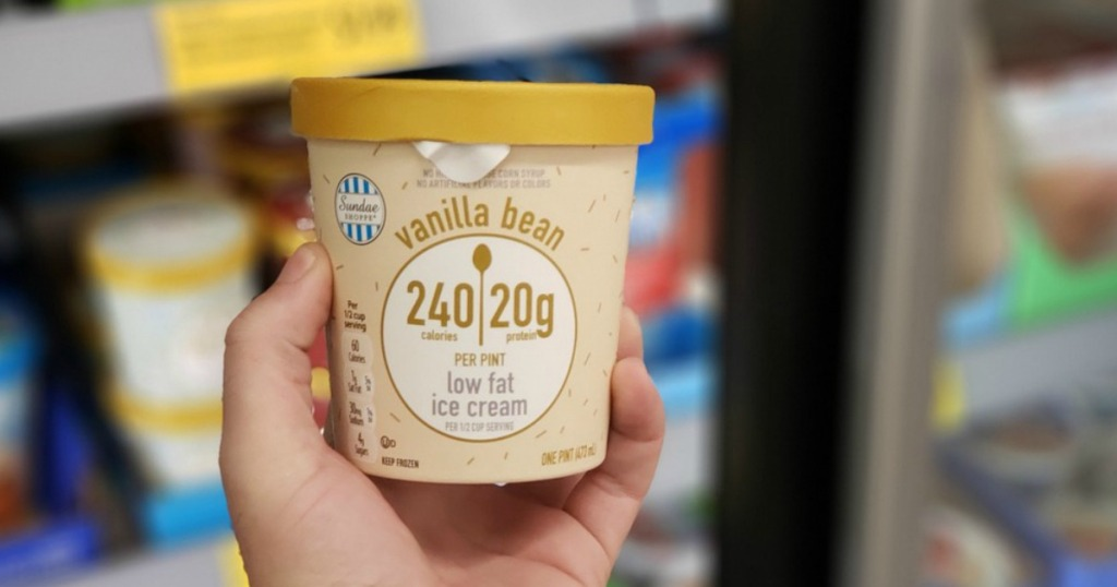 ee73f0ad92f Sundae Shoppe High Protein Ice Cream Available at ALDI (Almost Half Price  of Halo Top)