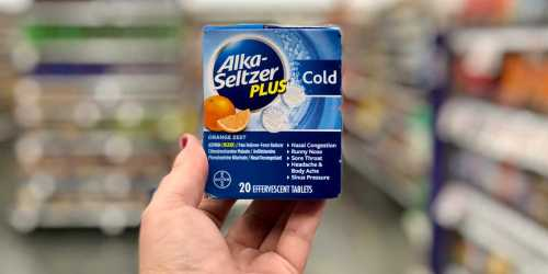 Over 40% Off Alka-Seltzer Plus Cold & Flu at Target