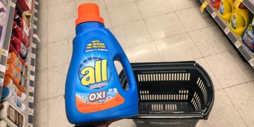 New All Laundry Detergent & Snuggle Fabric Softener Coupons = $1.88 Detergent at Walgreens + More