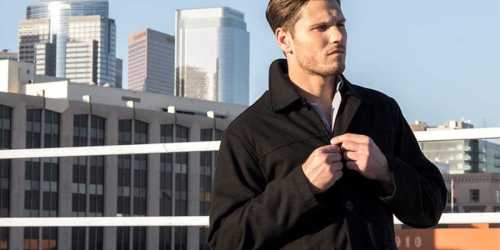 90% Off Alpine Swiss Men's Barn Coat + Free Shipping